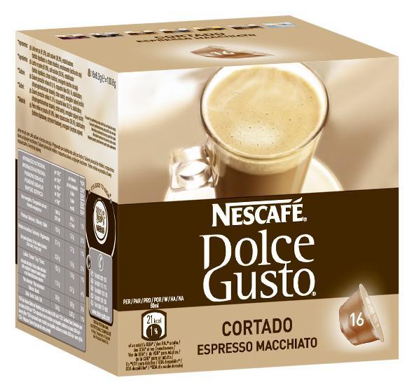 Nescafe Dolce Gusto Kapseln CORTADO Espresso Macchiato