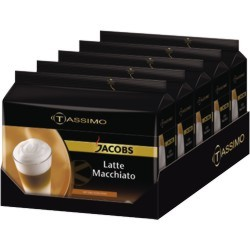 latte macchiato t disc t disc jacobs tassimo t disks. Black Bedroom Furniture Sets. Home Design Ideas
